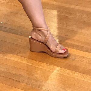 Ralph Lauren sandal. Barely worn. Super cute