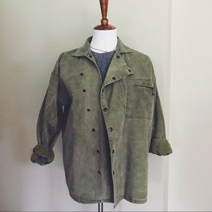 Other - Green Military-type Jacket