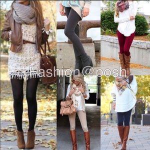 Pants - Plus size high waist fleece lined legging ONE SIZE