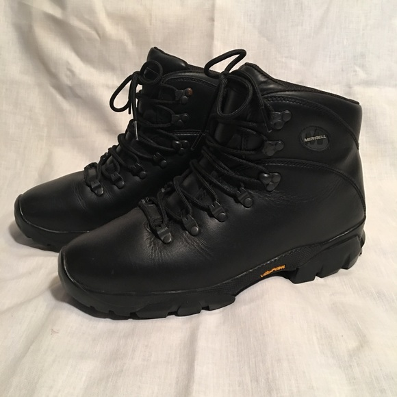 00af4db5e8 Men's Merrell leather hiking boots