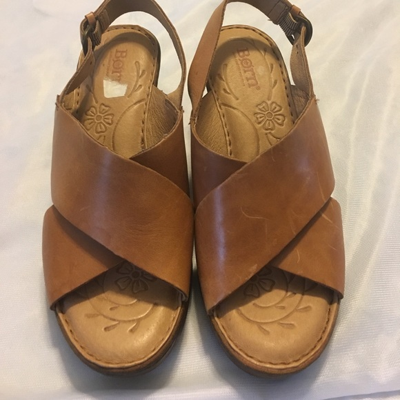 2724f63626f8b3 Born Shoes - BORN Coralyn Wedge Sandal