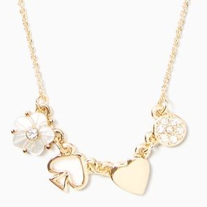 NWT Kate Spade Charm Necklace