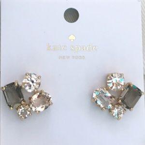 Kate Spade Crystal Stone Earrings Studs