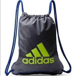 🌻NEW🌻 Adidas Grey & Black Bolt II Sackpack