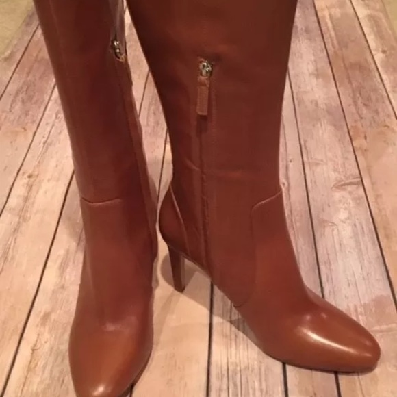 d98996ed13a8 Nine West hold tight cognac boots. Nwob size 10.5