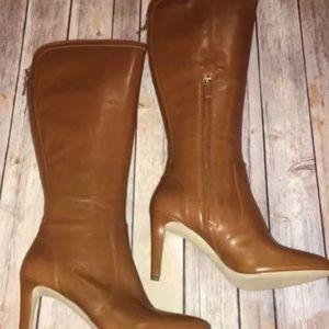 946b578b210b Nine West Shoes - Nine West hold tight cognac boots. Nwob size 10.5