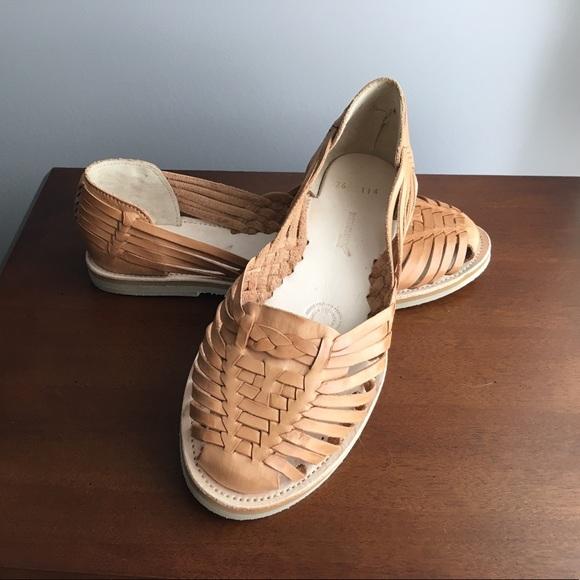 Light Tan Huaraches Sandals Sz