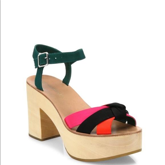 Loeffler Randall Platform Ankle Strap Sandals cheap sale get to buy vm3r5d