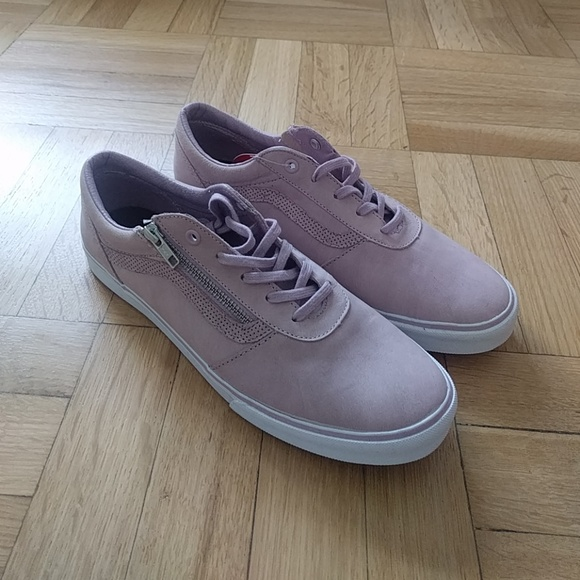 Vans Old Skool Zip in blush color NWT