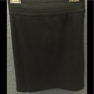 Banana Republic black skirt size 8
