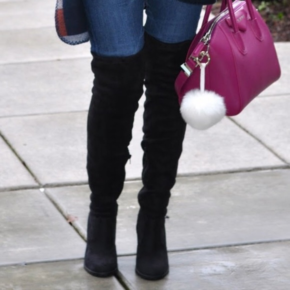 leila stone Shoes - Thigh high boots