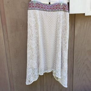 Flying Tomato Lace Skirt