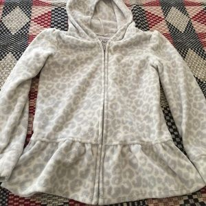 Toddler Girl children's place fleece hoodie