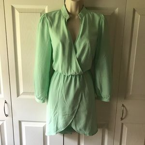 Dresses & Skirts - Mint Wrap Dress