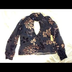 Sold Out Flynn Skye Leah top XS NWT