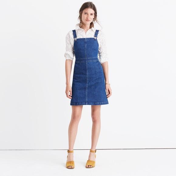 703a8e515d Madewell Dresses   Skirts - Madewell Hillview Denim Overall Dress