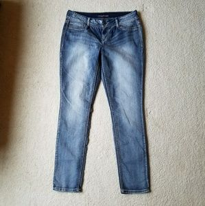 Maurices Distressed Denim Jeggings