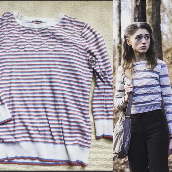 acadeba6b70 Liz Golf Sweaters - Stranger Things (Nancy Wheeler) Style Sweater