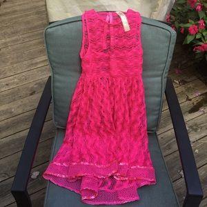 Cute neon pink dress!