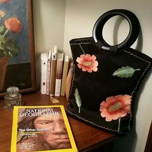 Handbags - Boutique applique handbag