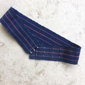 Vintage Mexican Handwoven Belt