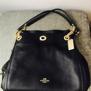 eebf47eb17ab Coach Bags - Coach Turnlock Edie Shoulder Bag In Pebble Leather
