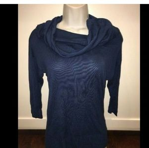 LAmade Sweaters - LAmade Navy Cow Neck Sweater Top XS