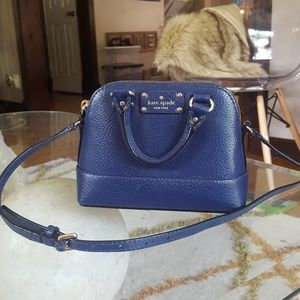 Small navy blue Kate Spade bag