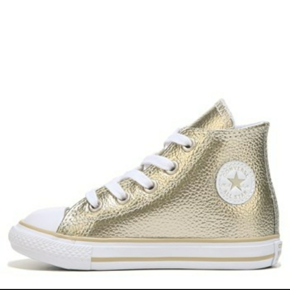e458befdca41 Converse Other - Kids leather Converse high tops