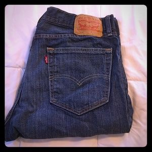 Mens levi jeans w 34 L 32