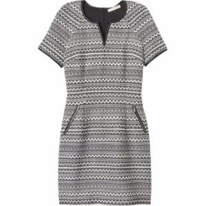 Rebecca Taylor grey tweed dress