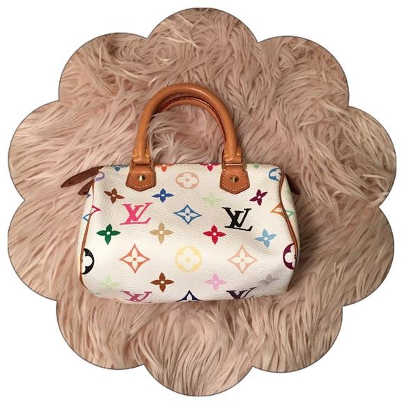 Louis Vuitton Handbags - Authentic Louis Vuitton Multicolor Speedy HL Mini 3f879ca8674d7