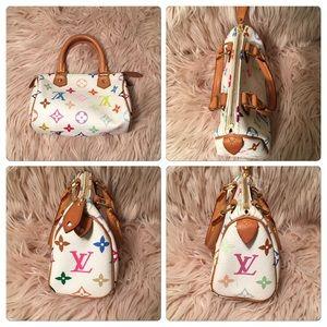 Louis Vuitton Bags - Authentic Louis Vuitton Multicolor Speedy HL Mini 2ad61d5f03868