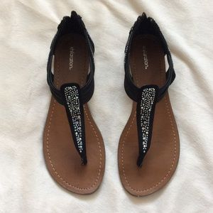 Shoes - Multicolored rhinestone sandals