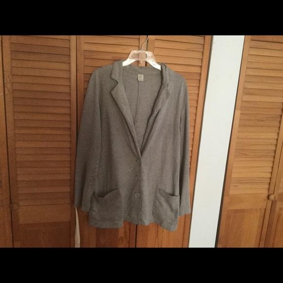 Trouve Jackets & Blazers - Trouve gray jacket top