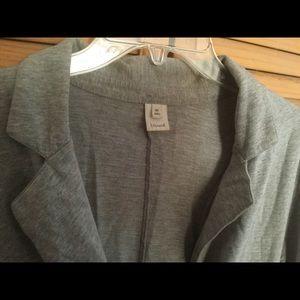 Trouve Jackets & Coats - Trouve gray jacket top
