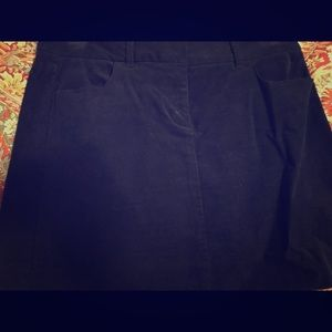 Dresses & Skirts - Corduroy navy skirt