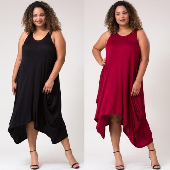 Sale! Love In Plus Size Maxi Dress Harem Style Boutique