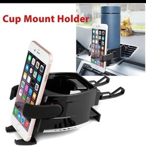 Accessories - Car Air Vent Cell Phone & Cup Mount Holder