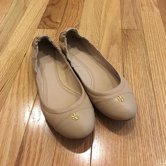 13998f5e486 Tory Burch York Ballet Flat in Camellia Pink. M 599a03705a49d0588a0d4e16