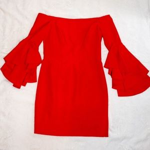 Milly Off the Shoulder Dress