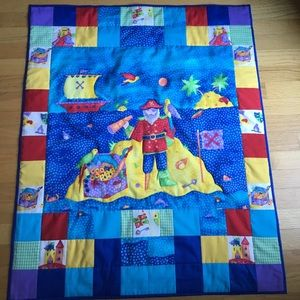 Other - Quilted Children's Pirate Blanket