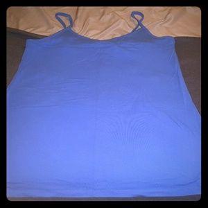 Blue Foxy Cami