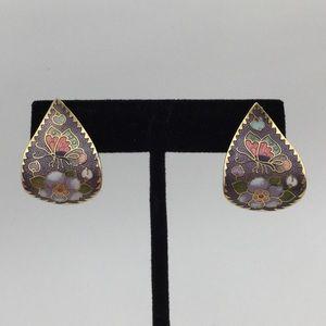 Jewelry - CLOISONNÉ Pierced Earrings!