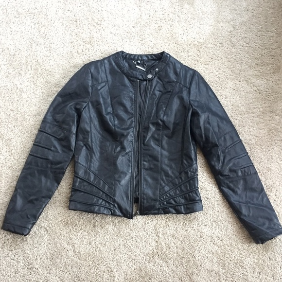 a0b5e83b9 SOLD/Not Available Nordstrom JOUJOU Leather Jacket