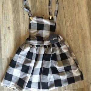 4c04764604 ASOS Petite Dresses - Asos petite plaid overall dress sz 2