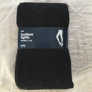 Gap footless tights