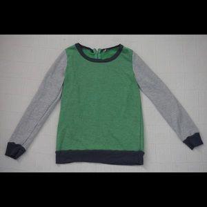 | SPLENDID | green, navy blue and grey sweater