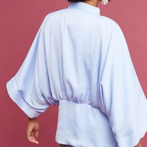 Anthro Kimono in Lilac/Pale Blue