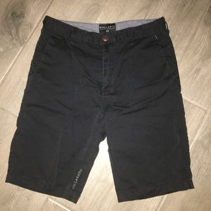 Billabong black shorts size 30